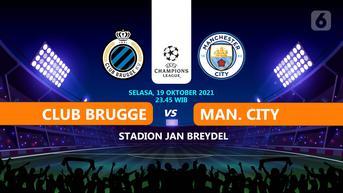 Prediksi Liga Champions Club Brugge vs Manchester City di SCTV: Ancaman Si Kuda Hitam