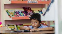 Nila Tanzil Pendiri Taman Bacaan Pelangi memberikan tips agar anak suka membaca