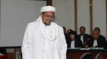 Rizieq Shihab Jadi Saksi di Sidang Ahok
