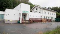 Masjid Al Noor di Norwegia yang menjadi target penembakan pada Sabtu 10 Agustus 2019 (AFP/Terje Pedersen)