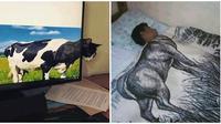 Gambar Nyeleneh Ini Bikin Orang Berfikir Dua Kali, Kocak Abis (sumber:Instagram/ngakakkocak)