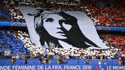Menjadi tuan rumah, Prancis merupakan salah satu negara unggulan yang diprediksi bisa merebut gelar Piala Dunia Wanita 2019. (AFP/Franck Fife)