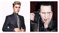 Marilyn Manson dan Justin Bieber