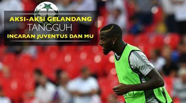 Video aksi-aksi gelandang tangguh incaran Juventus dan Manchester United, Tiemoue Bakayoko.