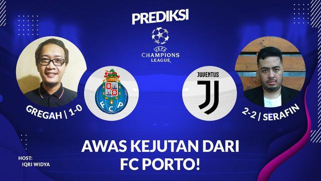 Berita Video Prediksi Liga Champions, FC Porto Bisa Manfaatkan Lemahnya Lini Belakang Juventus