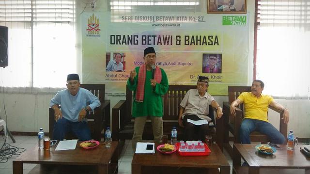 Kala Bahasa Betawi Menggeser Bahasa Sunda Di Perbatasan Jakarta News Liputan