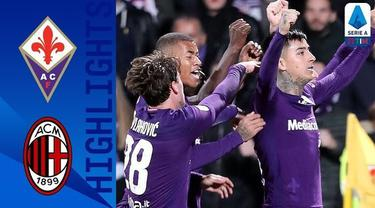 Berita Video Highlights Serie A, AC Milan Ditahan Fiorentina 1-1