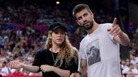 Jika tidak memenuhi permintaan itu, si peneror akan menyebarkan video berisi adegan bercinta pasangan Shakira dan Gerard Pique ke dunia maya. (AFP/Bintang.com)