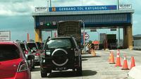 Gerbang Tol Kayuagung yang menjadi bagian dari ruas Tol Trans Sumatera (Dok. Humas Pemkab OKI Sumsel  / Nefri Inge)