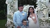 Jessica Iskandar dan Vincent Verhaag (Foto: dok. Instagram Bridestory)