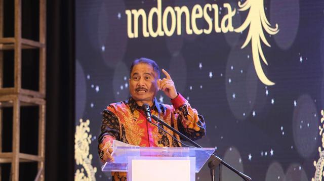 Menpar Arief Yahya jadi keynote speaker di Google for Indonesia. (foto: dok. Kemenpar)