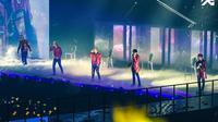 Big Bang saat beraksi di atas panggung dalam rangkaian Made Tour Concert [Foto: bigbangupdates]