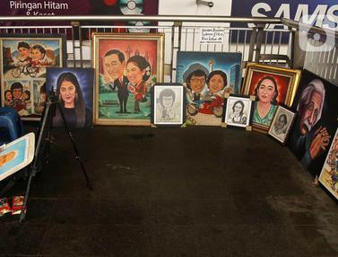 Potret Seniman Lukis Ibu Kota