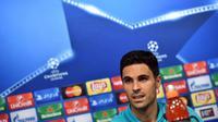 Gelandang Arsenal asal Spanyol, Mikel Arteta. (AFP/Andrej Isakovic)