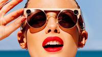 Kacamata Spectacles 3 dapat unggah foto dan video langsung ke Snapchat. (Doc: Ubergizmo)