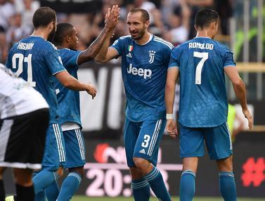 FOTO: Juventus Awali Serie A dengan Kemenangan Atas Parma