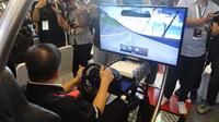 Kompetisi Nissan GT Academy Indonesia resmi bergulir pada Selasa (28/4/2015) di kawasan Mall Taman Anggrek, Jakarta Barat.