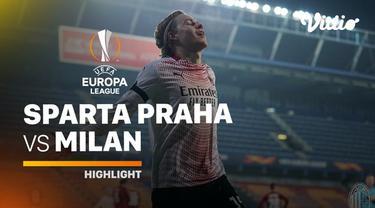 Berita video highlights Liga Europa Sparta Praha Vs AC Milan, Jumat (11/12/20). Jens Petter Hauge mencetak gol tunggal kemenangan di laga tersebut.