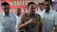 Kabid Humas Polda Jabar, Komisaris Besar Trunoyudo Wisnu Andiko. (Huyogo Simbolon)
