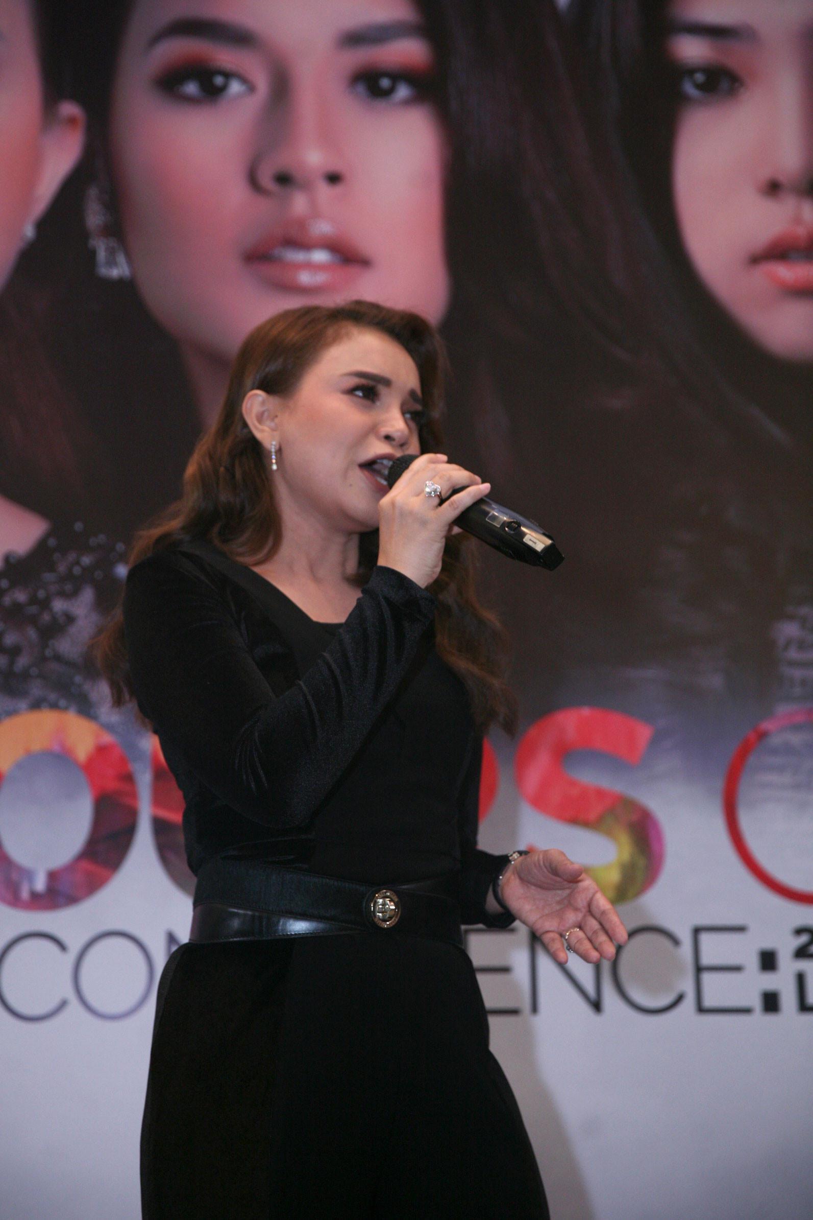 Rossa isi OST Ayat Ayat Cinta 2 (Nurwahyunan/Bintang.com)