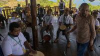 Program AKSILARASI sektor musik yang dilaksanakan di Labuan Bajo, NTT. (dok. Kemenparekraf)