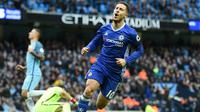 7. Eden Hazard (Chelsea) - 8 Gol (2 Penalti). (AFP/Paul Ellis)