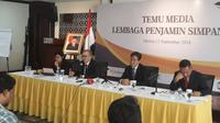 Rapat Dewan Komisioner LPS menghasilkan keputusan menaikkan tingkat bunga penjaminan simpanan. (Dwi Aditya Putra/Merdeka.com)