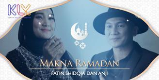 Menyentuh, begini makna bulan Ramadan untuk Anji dan Fatin Shidqia