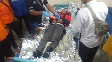 Pendaki Gunung Slamet meninggal dunia diduga terserang hipotermia, di Pos 5 Purbalingga. (Foto: Liputan6.com/Istimewa)