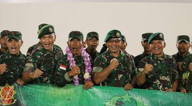 Petembak TNI AD kembali menjadi juara umum pada Lomba Tembak Australian Army of Skill Arms at Meeting