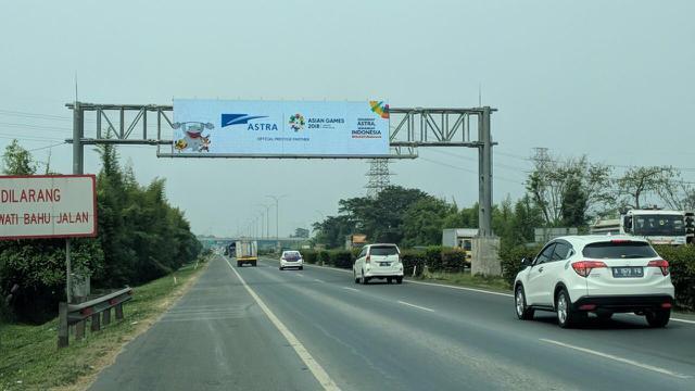Jalur Tol Tangerang - Merak yang akan dilalui kontingen Asian Games dicek kembali kelayakannya. Hal ini dilakukan agar ketika rombongan melewatinya, tidak akan ada hambatan yang berarti.
