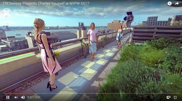Pertama Kalinya Panggung Virtual Reality di New York Fashion Week