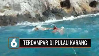 VIDEO: 2 Hari Dinyatakan Hilang, Seorang ABK Ditemukan Terdampar di Pulau Tak Berpenghuni