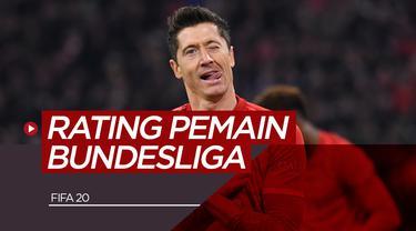5 Pemain Bundesliga dengan Rating Terbaik di FIFA 2020