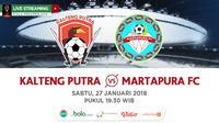 Piala Presiden 2018 Kalteng Putra Vs Martapura FC_2 (Bola.com/Adreanus Titus)