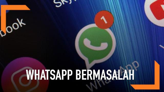Warganet mengeluh karena Whatsapp ikut rusak seperti aplikasi Facebook dan Instagram.