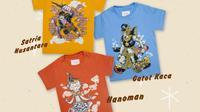 Koleksi Boga Lakon dari brand lokal asal Bandung, Jawa Barat, Jumma Kids, yang terinspirasi dari superhero asli Indonesia. (dok. Jumma Kids)
