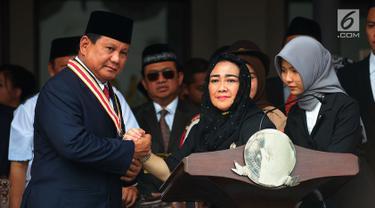 Prabowo dan Sandiaga Ikuti Upacara HUT ke-73 RI di Universitas Bung Karno