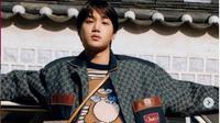 Produk Kolaborasi Kai EXO dan Gucci Sudah Bisa Dipesan, Harganya Dianggap Kemahalan. (dok.Instagram @mrjonginkim/https://www.instagram.com/p/CLv9No4FpP-/Henry)