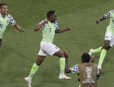 Nigeria, Islandia, Piala Dunia 2018