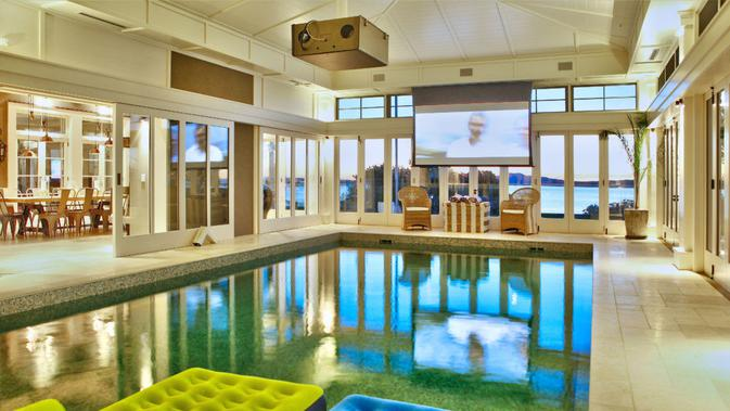 Rumah termahal di Selandia Baru berhasil terjual setelah tujuh tahun dipasarkan. Dok: Graham Wall