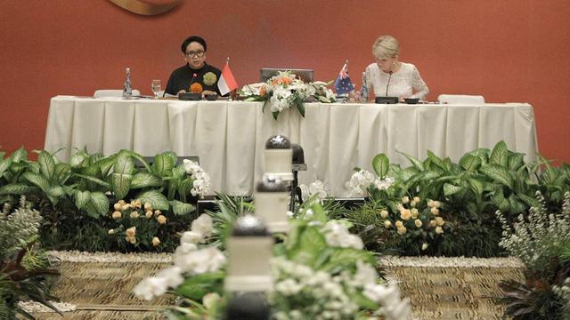 Menlu Indonesia dan Australia Resmi Membuka Bali Process Ministerial Forum 2018