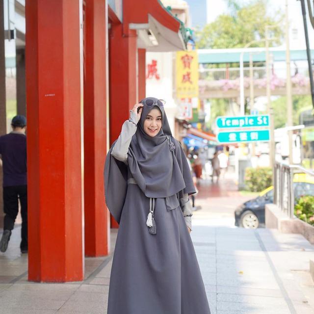 6 Inspirasi Padu Padan Hijab Yang Tak Membosankan Ala Anisa Rahma Lifestyle Liputan6 Com