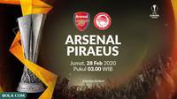 Liga Europa - Arsenal Vs Olympiakos Piraeus (Bola.com/Adreanus Titus)