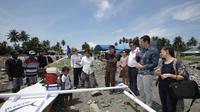 Kontribusi ini adalah bagian dari pendanaan khusus yang didedikasikan oleh AFD untuk situasi setelah bencana tsunami di Sulawesi Tengah (Kedutaan Besar Prancis)
