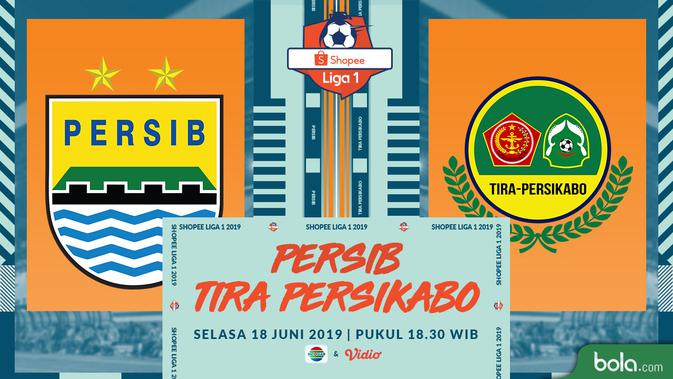 Eksklusif Live Streaming Shopee Liga 1 di Indosiar: Persib Vs Tira Persikabo 2