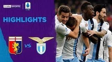 Berita Video Highlights Serie A, Lazio Menang 3-2 Atas Genoa