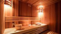 Ilustrasi sauna (iStockphoto)