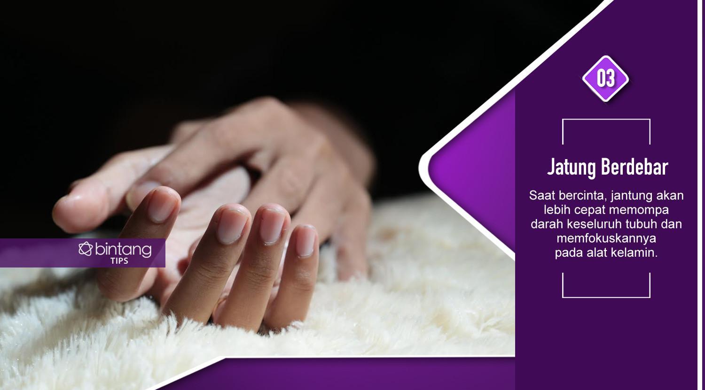 Ini yang terjadi pada tubuh saat berhubungan seks. (Foto: Deki Prayoga, Digital Imaging: Nurman Abdul Hakim/Bintang.com)