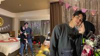Momen Perayaan Ultah Evan Marvino yang ke-27, Dapat Kejutan Manis dari Istri. (Sumber: Instagram/evanmarvino)